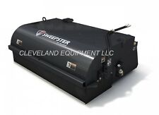 72 Sweepster Pick Up Broom Attachment Skid Steer Loader Collector Box Bucket 6