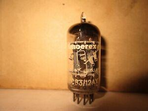 1  100% Amperex D/Foil Getter MC4 _/ 7G  1957 LP 12AX7A Bugle-Boy Audio   Tube