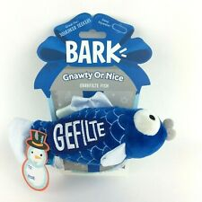 Bark Fish Dog Toy for XS-Small Dogs Grrrfilte Fish Deep Squeaker Play Fetch