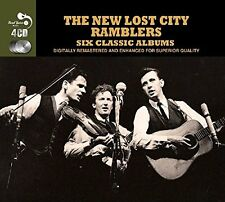 New Lost City Ramblers SIX (6) CLASSIC ALBUMS American Moonshine Songs NEW 4 CD