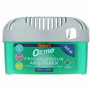 Ozmo Fridge Odour Absorber 2 in 1 with End of Life Indicator - 200 g