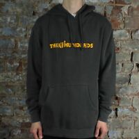 The Hundreds X Garfield Bar Logo Hooded Sweatshirt Hoodie – Black in Size M,L