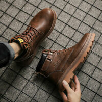 Men's Shoes Retro Outdoor Boots Working Sneakers Waterproof Soft Casual Sports