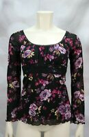 Self Esteem Floral Top size Small