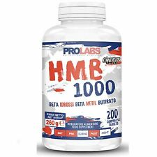Prolabs HMB 1000 200 compresse Beta idrossi beta metil butirato