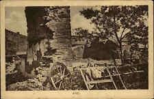 Amel Amblève Belgien Zerstörte Häuser 1. Weltkrieg Militär Militaria Guerre I.