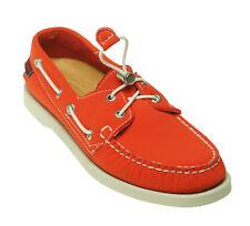 Sebago Women's Dockside Penny Loafer Boat Shoes Red Neoprene Size 6.5 B500125