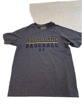 notre dame under armour Baseball t-shirt Ymd