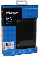 Maxtor HDD externe Festplatte M3 Portable 2,5 Zoll 500GB USB 3.0 schwarz