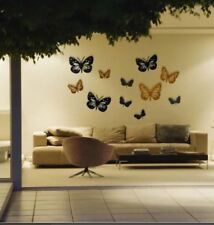 DIY Butterflies Wall Stickers Home Decorating Photo (multicolor)