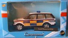 LAND ROVER 4.6 HSE UK POLICE CARARAMA 1/43 RANGE NEW ENGLAND ANGLETERRE POLITIE