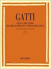 Ricordi Gran metodo teorico pratico progressivo - Parte I