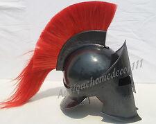 REPLICA HBO ROME SPARTAN MEDIVAL HELMET BLACK FINISH SCA greek HELMET for sale