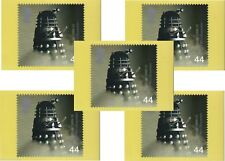 Doctor Who Rare Dalek Postage Stamp Postcards x 5 - PHQ 208