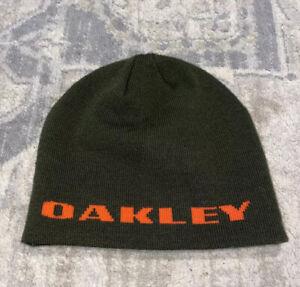 Oakley Hat Winter Beanie Olive green Men's One Size