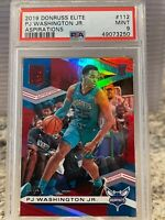 2019 Elite Aspirations PJ Washington RC /75 Charlotte Hornets PSA 9
