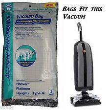 Hoover Q Vacuum Bags HEPA Platinum, Allergen AH10000, UH30010COM DVC (3pk)
