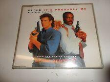 Cd  It's Probably Me von Sting und Eric Clapton - Single