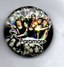 PARAMORE  Button Badge -AMERICAN ROCK BAND -RIOT!  BRAND NEW EYES -TWILIGHT PIN