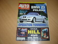 Auto hebdo N°1057 BMW Z3 Pelras.911 Carrera S.Kremer.