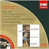 Sir Edward Elgar - : Cello Concerto; Sea Pictures; Overture 'Cockaigne' DU PRE