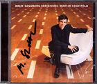 Martin STADTFELD Signiert BACH Goldberg Variations BWV 988 SONY CD Variationen