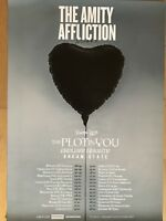 THE AMITY AFFLICTION 2018 TOUR - orig.Concert Poster -- Konzert Plakat   A1  NEU