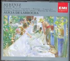 ALBENIZ - Iberia / Suite Espanola / Navarra etc- - Alicia De LARROCHA - EMI 2CDs