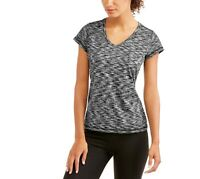 Daisy Fuentes Just Be Free Core Active Short Sleeve Performance T-Shirt, Small