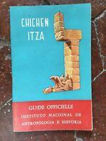 Guía Oficial Chichen-Itza Instituto Nacional De Antropología E Historia 1964