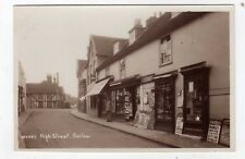 ESSEX, HARLOW, HIGH STREET, SHOP FRONTS, RP