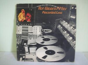 TEN YEARS AFTER - RECORDED LIVE DOUBLE LP