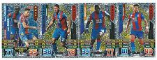 2015 / 2016 EPL Match Attax CRYSTAL PALACE Inserts Man of the Match x 3 Duo x 1