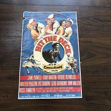 Hit the deck Jane Powell vintage movie poster print