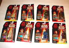 star wars Potf E 1 Tpm phantom menace action figure lot of 8 Mip 1999 E I