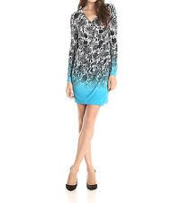 2354-2 Calvin Klein Women's Asymmetrical Dress with Long-Sleeves, Size 12, $119