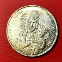 #4810 - Médaille Jean Paul 2 OL CZESTOCHOWA -Ora Pro Nobis - FACTURE
