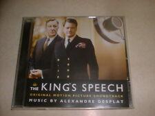 THE KING'S SPEECH : FILM SOUNDTRACK ALEXANDRE DESPLAT..CD ALBUM 2010