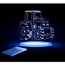 Brand new boxed Aloka tractor sleepylights multi coloured night light and remote