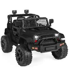 Best Choice Products SKY5506 12V Kids Ride on Truck Car - Black