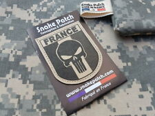 """SNAKE PATCH """" FRANCE PUNISHER """" TAN BV SABLE OPEX ARMEE commando SCRATCH"""