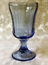 Federal Glass/Indiana Glass Recollection Blue Stem Goblet 10 oz.