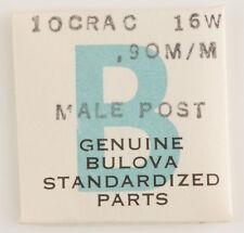 1 Nos Unused Bulova Male Post .90Mm #16W 10Crac For A Watch