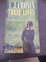 A. J. Cronin THREE LOVES A Pyramid Book    B4