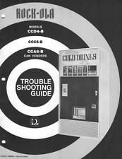 Digital PDF Download - Rockola Trouble Shooting Guide CCD4-B CCC5-B (24 Pages)