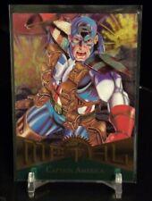 1995 MARVEL METAL / CAPTAIN AMERICA # 11 / BASE CARD