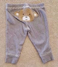 CLEARANCE! CARTER'S NEWBORN STRIPED MONKEY PANTS REBORN