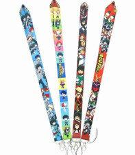 lot Japanese anime Neck Strap Lanyard Mobile Phone Key Chain ID Badge Key Chains