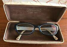 Coach Women's Eyeglasses HC 6002 Cecilia 5056 Blue Frame 51[]16 135 Case
