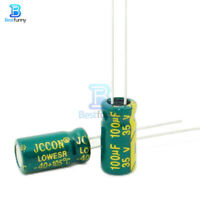 10//20//50//100PCS 25V 1000uF 10x17mm High Frequency Radial Electrolytic Capacitor